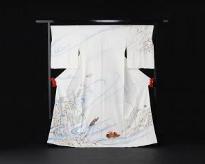 立命館大学木立研究室・ZONE 2013年   原画:伊藤若冲≪雪芦鴛鴦図≫エツコ&ジョー・プライスコレクション